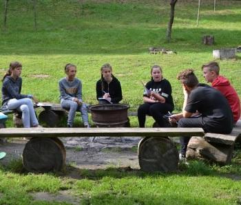 Schülerzeitung AG - Seminarfahrt Schülerrat_Villa Jühling Halle-Dölau [6.9.-8.9.2017] (4)
