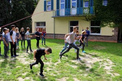 Schülerzeitung AG - Seminarfahrt Schülerrat_Villa Jühling Halle-Dölau [6.9.-8.9.2017] (5)