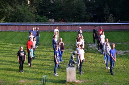 Schülerzeitung AG - Seminarfahrt Schülerrat_Villa Jühling Halle-Dölau [6.9.-8.9.2017] (6)