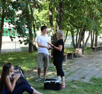 Schülerzeitung AG - Abschlussveranstaltung Schülerrat_Mission Picknickdecke [6.6.2018] (5)