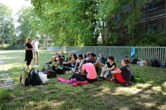 Schülerzeitung AG - Abschlussveranstaltung Schülerrat_Mission Picknickdecke [6.6.2018] (6)