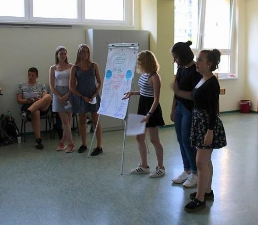 Schülerzeitung AG - Abschlussveranstaltung Wahlpflichtkurs 'Lebenswelt' am CWG [28.5.2018] (6)