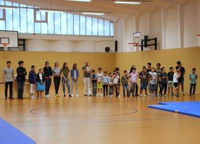 Schülerzeitung AG - Benefizlauf Campus Kastanienallee_Siegerehrung [27.6.2018] (4)
