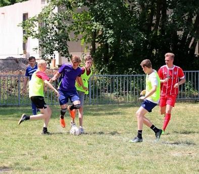 Vor allem das Finale (Dänemark gegen Kolumbien) war ein spannendes Spiel (r.)