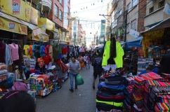 Ren La Paz 1- Innenstadt mit vielen Straßenhändlern