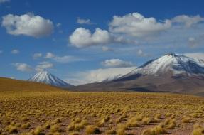 Ren Stratovulkan in den Anden Nordchiles