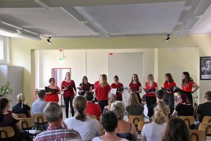 Der Chor des CWG...